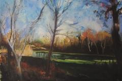 Gravel Pit Lake, Autumn